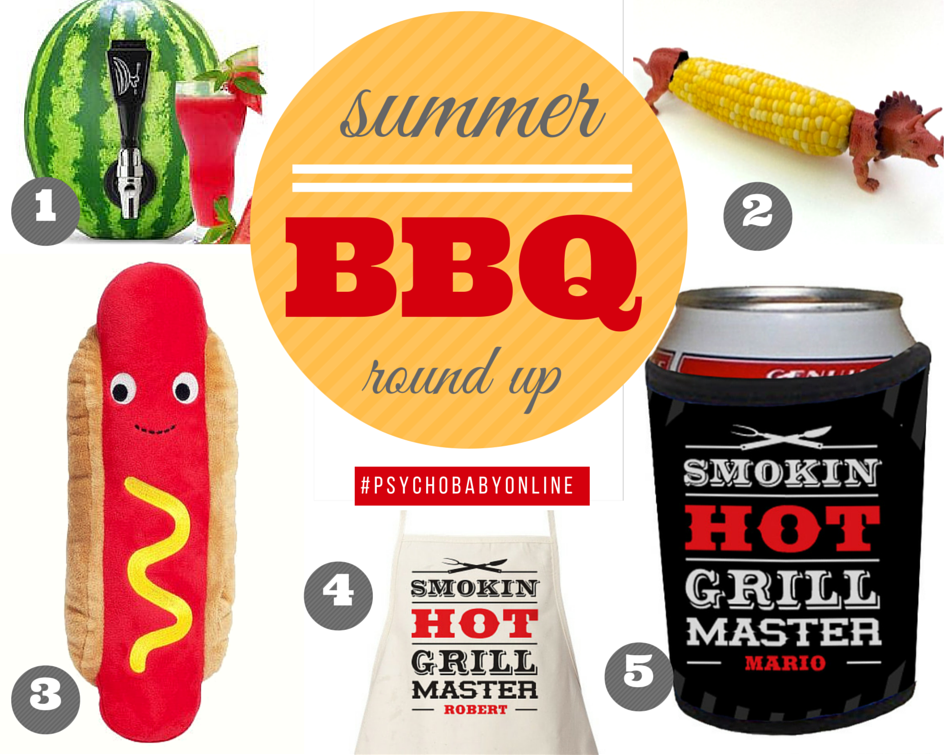Summer Barbecue and Grilling Gifts