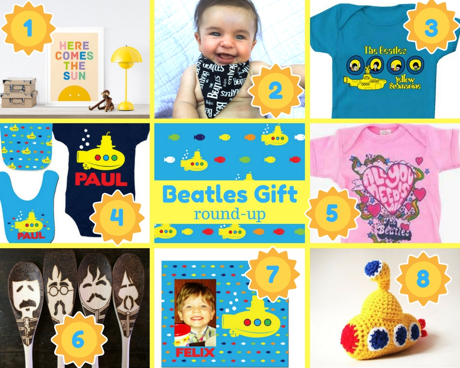 Beatles Baby Gift Ideas and Beatles Gifts for the Family