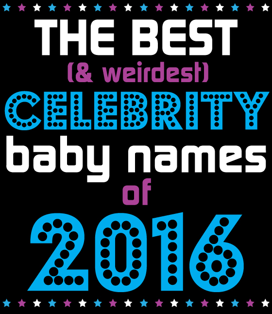 Celebrity Baby Names of 2016