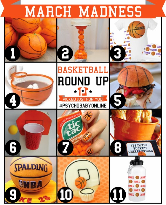 Basketball Party and Gift Ideas