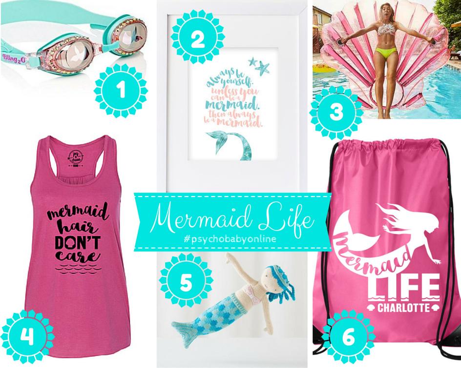 Mermaid gift ideas for girls & grown-ups!