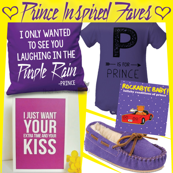 Prince Inspired & Purple Rain Gift Ideas